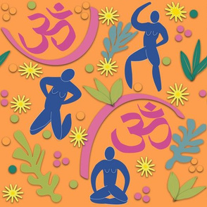 Matisse's Vision Of Yoga