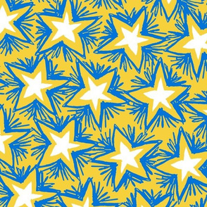 Bright Stars BLUE GOLD