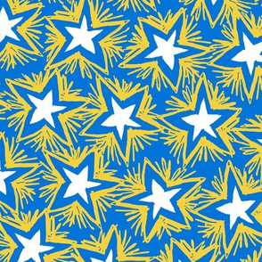Bright Stars GOLD BLUE