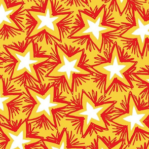 Bright Stars RED GOLD