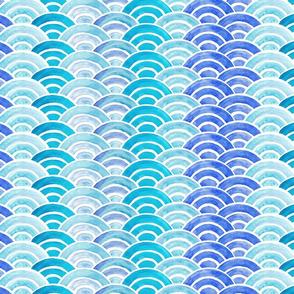 Japanese wave pattern