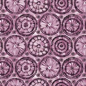 shibori pink