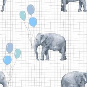Elephant balloon GRID