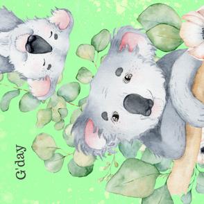 G'day Koala (Full yard)