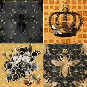 The Kings Bees Patchwork