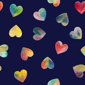 All the hearts spoonflower
