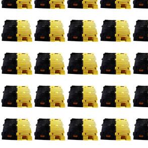 speed breaker black yellow