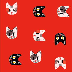 cat pattern design