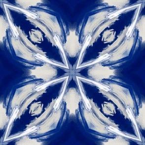 Cobalt Frost   Blue • Cream • Gray