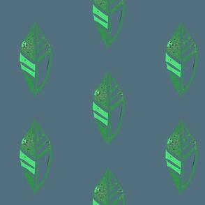 bluel green leaf
