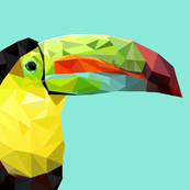 low-poly-toucan