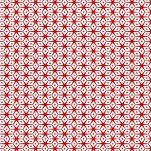 Mini Prints: Abigail Anne - Candy Cane Stars and Diamonds