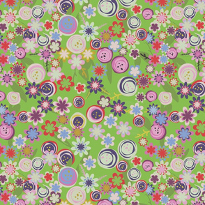 Folk-flowers-pattern