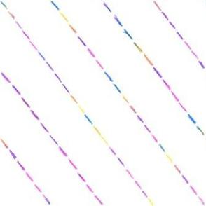 jolly rainbow diagonal dash