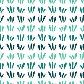 Green Grass - white