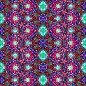 Rosey Lotus Zigzag