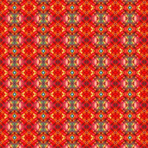 Red Hot Diamond Tartan