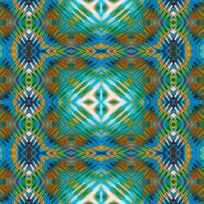 Teal Hopi Blocks