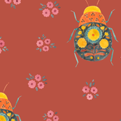 Folk Bugs and Flowers 4.1