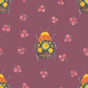 Folk Bugs and Flowers 4.2
