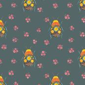 Folk Bugs and Flowers 4.6