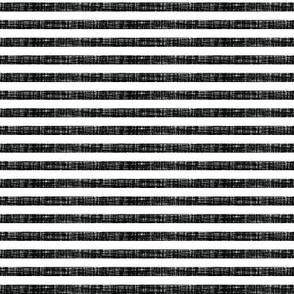 "blackest black linen 1/4"" horizontal stripes"