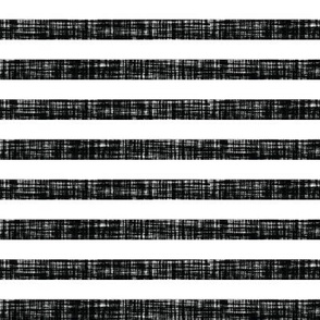 "blackest black linen 1/2"" horizontal stripes"
