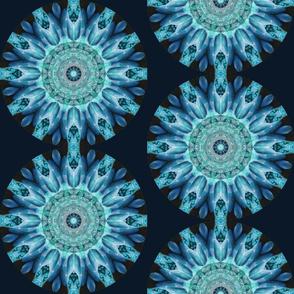 Blue Bird Mandala SF