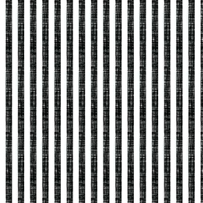"blackest black linen 1/4"" vertical stripes"