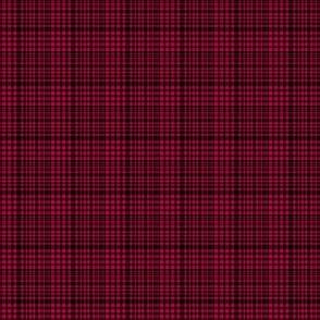 Mini Prints: Mod Mini Red and Black Plaid