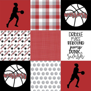 Women's Basketball//Warriors - Wholecloth Cheater Quilt