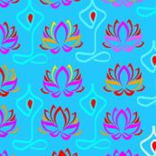 Lotus Flower Namaste Yoga Pants