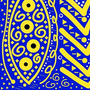 Tribal Paint - #5 Large