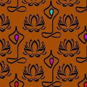 Lotus Flower Yoga Design