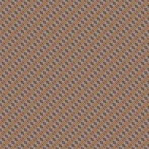 Mini Prints: Warm and Brown -Plaid on a Slant
