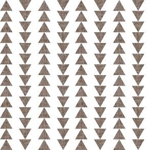 mushroom linen traveling triangles