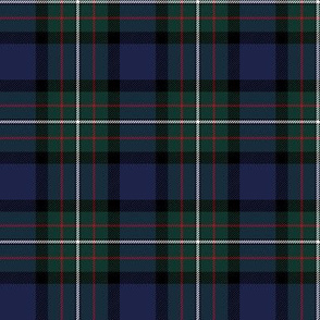 "Ferguson Ancient / Ferguson of Atholl tartan, 3"" dark colors"