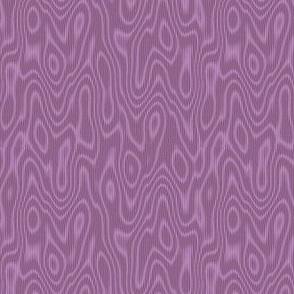 faux bois moire - twilight mauve