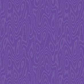 faux bois moire - royal purple
