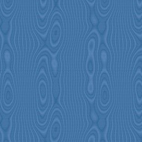 faux silk moire - twilight blue