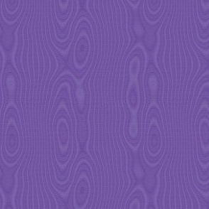faux silk moire - royal purple