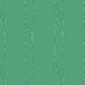 faux silk moire - green-gold