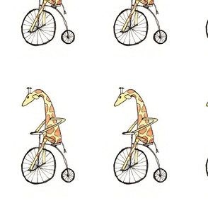 Cycling Giraffe