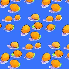 oranges (blue)