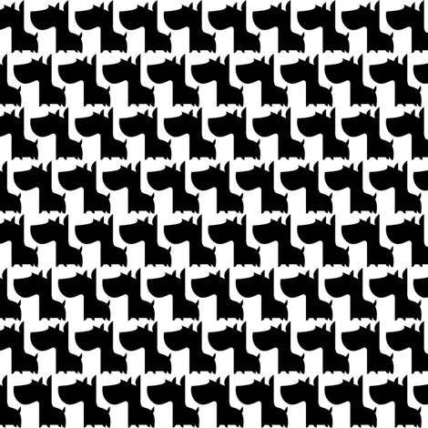 Scottie Dogs fabric by shereeboyd on Spoonflower - custom fabric