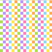 Colored Checkers White
