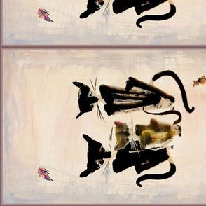Feline Family Portrait