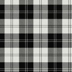 Erskine tartan clan black and white