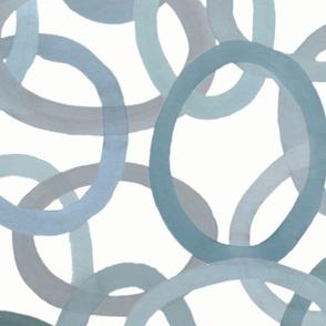 Custom Painted Circles