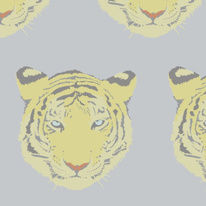muted tiger